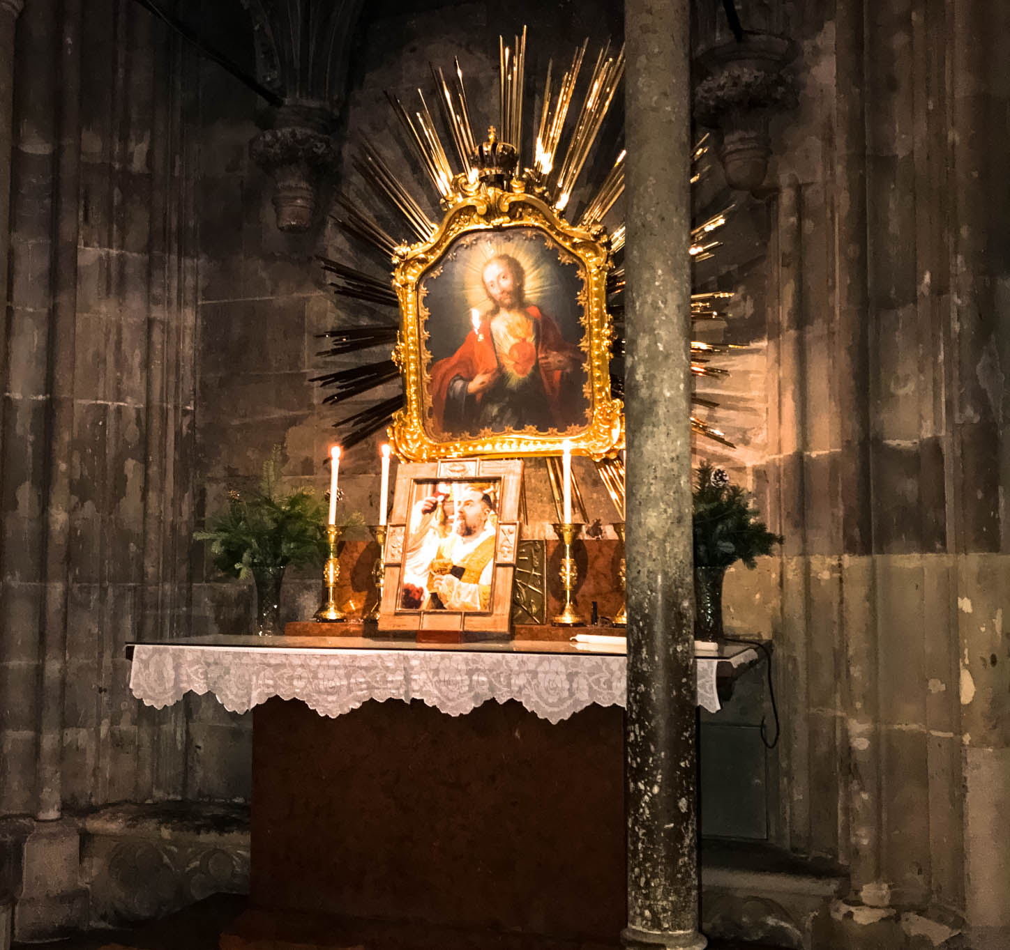 St. Stephens Cathedral Photo of Jesus